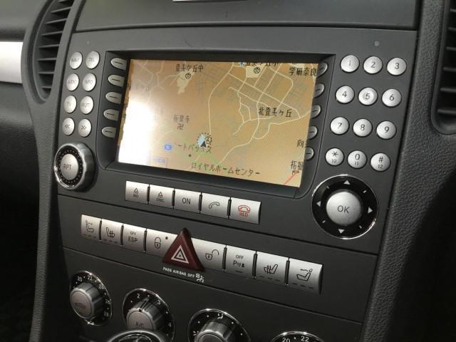 SLK350 ナビ・赤レザーシート・パワーシート・シートヒーター・エアースカーフ・ドライブレコーダー・HIDライト・フォグランプ・コーナーセンサー・ドアミラーウインカー・ETC(10枚目)