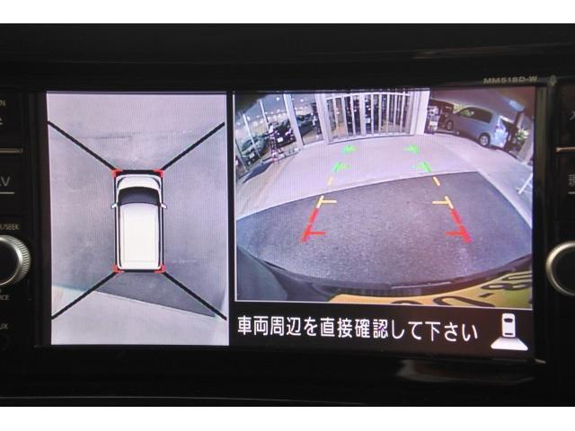 ハイウェイスター X 純正フルセグナビ アラウンドビューモニター エマブレ インテリジェントキー LEDヘッド オートライト アイスト VDC ETC フォグランプ 左側電動スライドドア(13枚目)