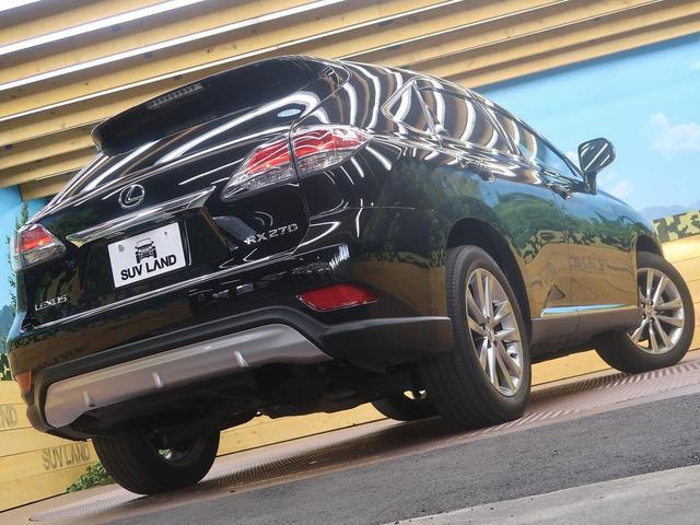 レクサス RX RX270 バージョンL 純正ナビ サンルーフ 赤革シート