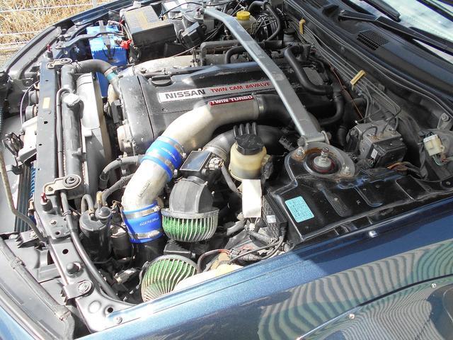 エンジンはこう見えてほぼノーマルです!!ブーストUP仕様!!