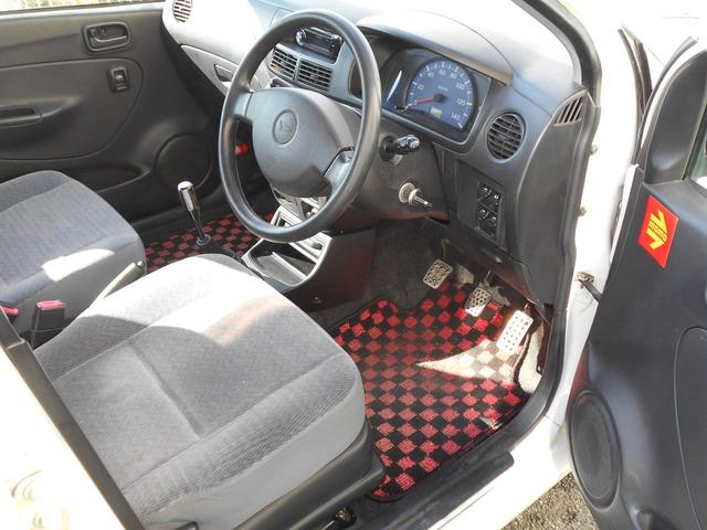 L 車高調 マフラー スパルコ14インチホイール カロッツェリアCDデッキ ユーザー買取車 禁煙車 チェックフロアマット シフトノブ アルミペダルカバー(5枚目)