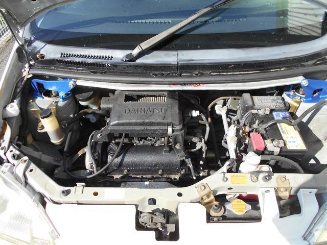 L 車高調 マフラー スパルコ14インチホイール カロッツェリアCDデッキ ユーザー買取車 禁煙車 チェックフロアマット シフトノブ アルミペダルカバー(20枚目)