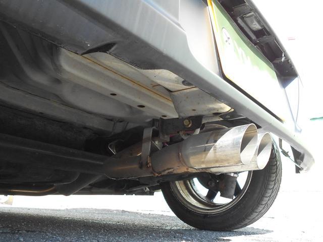 L 車高調 マフラー スパルコ14インチホイール カロッツェリアCDデッキ ユーザー買取車 禁煙車 チェックフロアマット シフトノブ アルミペダルカバー(29枚目)