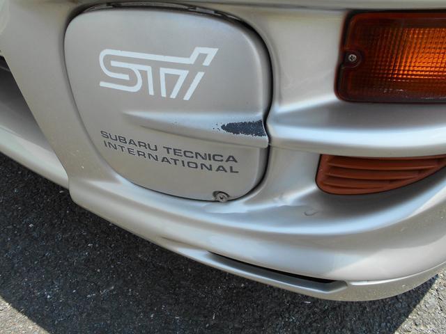 WRXタイプR STiバージョンV クーペ 5MT BBS16インチアルミ タイベル交換済み クラッチ交換済み MOMOハンドル STiショック・マフラー・タワーバー ケンウッドオーディオ ユーザー買取車(35枚目)