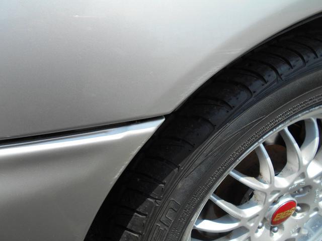 WRXタイプR STiバージョンV クーペ 5MT BBS16インチアルミ タイベル交換済み クラッチ交換済み MOMOハンドル STiショック・マフラー・タワーバー ケンウッドオーディオ ユーザー買取車(37枚目)