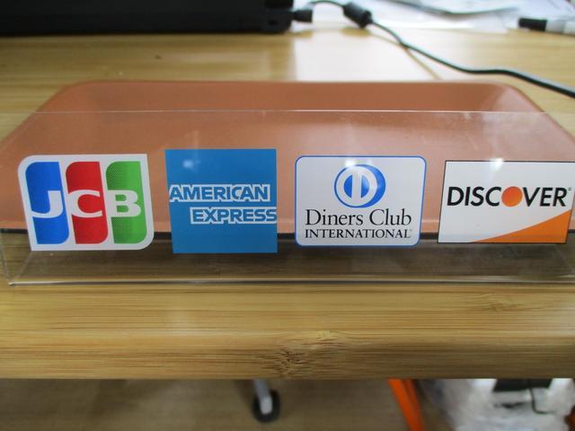 各種クレジットカード、PayPay、提携オートローンもご利用いただけます!