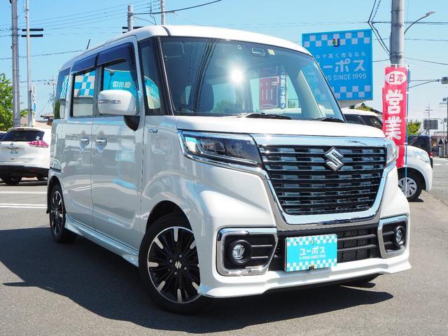 「スズキ」「スペーシアカスタム」「コンパクトカー」「滋賀県」の中古車3