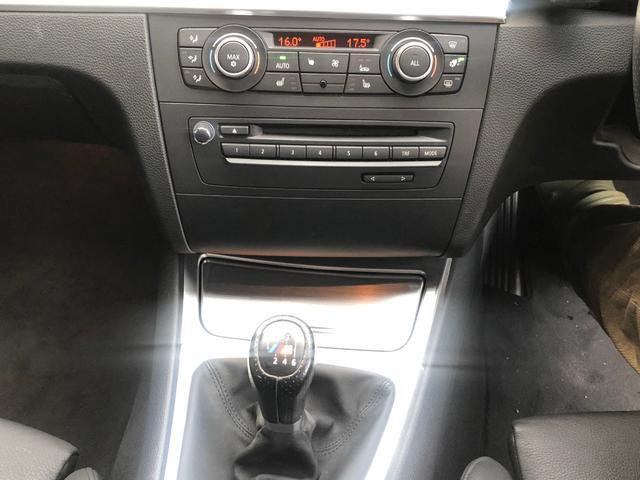 135iクーペ6速マニュアルノーマルルーフBLKレザーD車(11枚目)