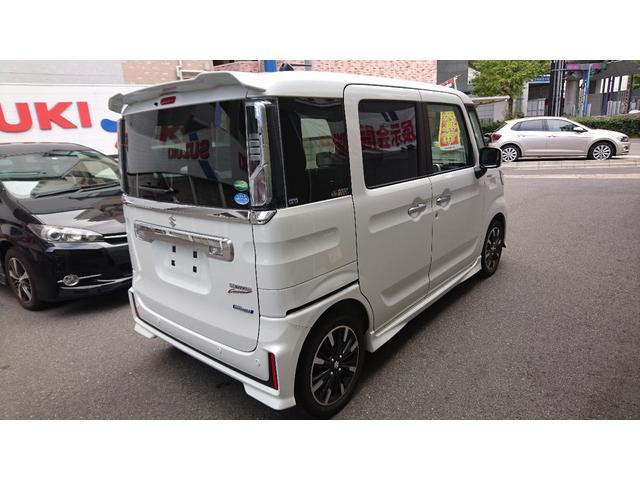 新車 ハイブリッドXSターボ スズキセーフティサポート(8枚目)