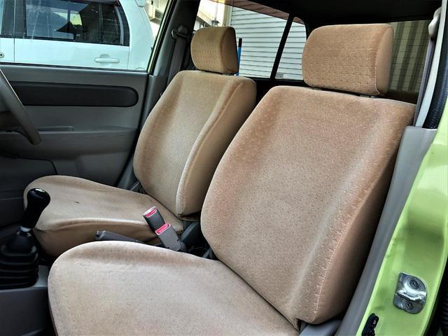 S 走行5万キロ台 5速MT エアコン パワステ パワーウインドウ キーレス 運転席&助手席エアバッグ ABS イモビライザー 衝突安全ボディ フルフラット アイライン フォグ 13AW ETC(27枚目)