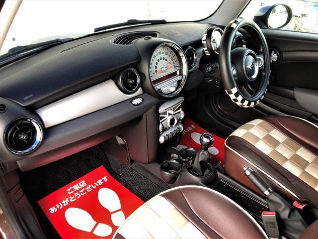 クーパー クラブマン 修復歴なし 49478km 6速MT センターストライプライン 専用シートカバー ドライブレコーダー ETC オートエアコン 17AW(24枚目)