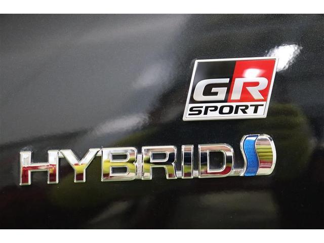 サイドにもGRスポーツオリジナルのエンブレムがあり、かなり特別感があります。