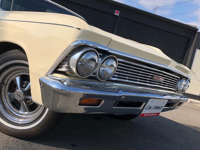 シボレー シボレー エルカミーノ 66年モデル ベンチシート