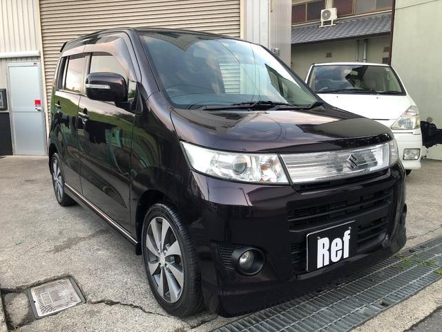 「スズキ」「ワゴンRスティングレー」「コンパクトカー」「大阪府」の中古車14