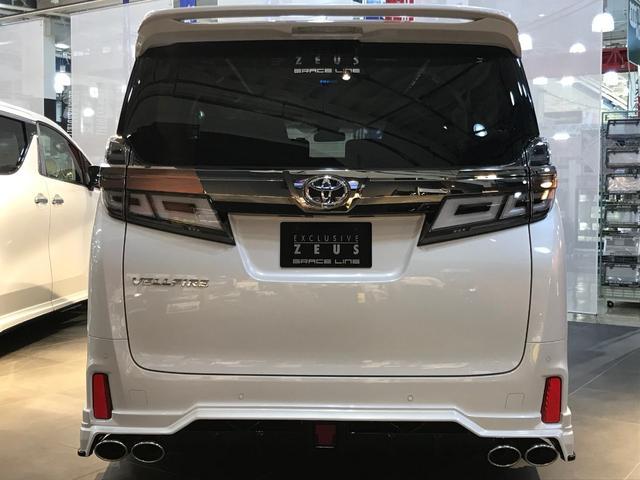 2.5Z 7人乗 ZEUS新車カスタムコンプリート(7枚目)