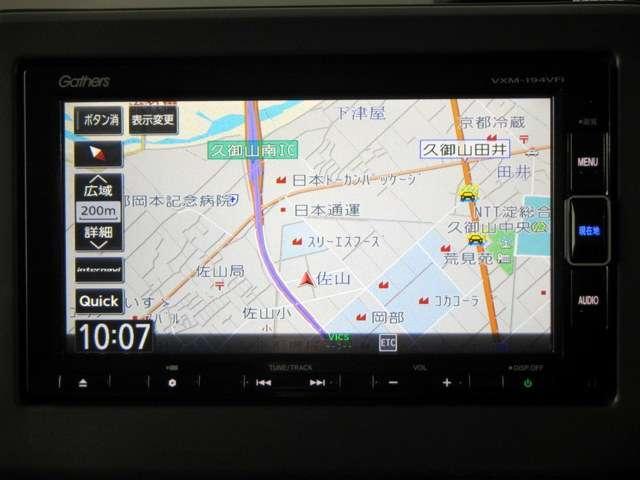 G・スロープLホンダセンシング iphone対応ナビRカメラ(3枚目)