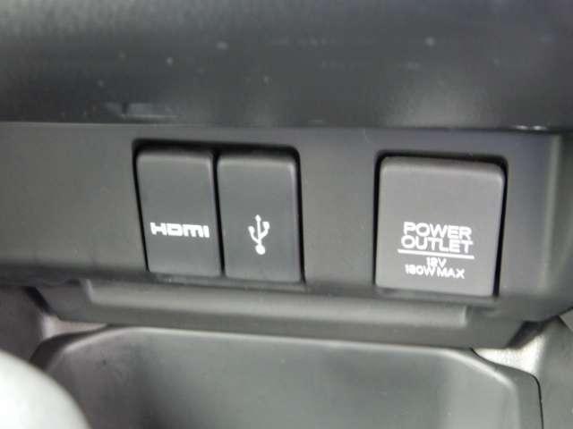 13G・Fパッケージ コンフォートエディション メモリーナビ バックカメラ ETC ホンダセンシング 当社デモカー車両 HDMI接続端子 USB接続端子 DC12V接続端子 シートヒーター 運転席ハイトアジャスターシート アイドリングストップ機構(11枚目)