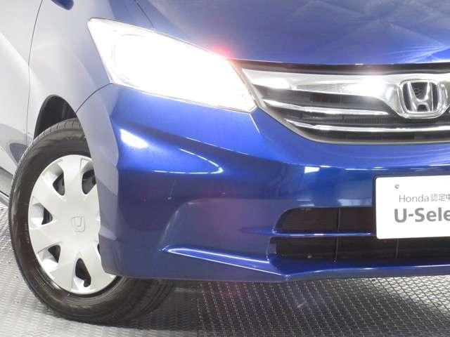 ★ディスチャージヘッドライト装備車★ ハロゲンライトより光量が多く、明るくて視認性がいいので、夜間走行時も安全に運転できます!