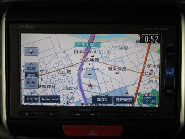 G SSパッケージ iphone対応ナビRカメラETC iphone対応ナビRカメラETC両電スラ地デジ(4枚目)