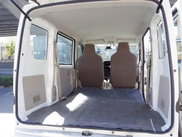 後部座席側シート収納可能 フルフラットで広くお使い頂けます