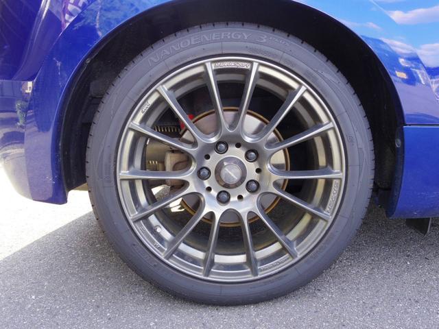 Weds Sport 17インチ 215/45R17 タイヤ溝8分 前後ともまだまだお使い頂けます