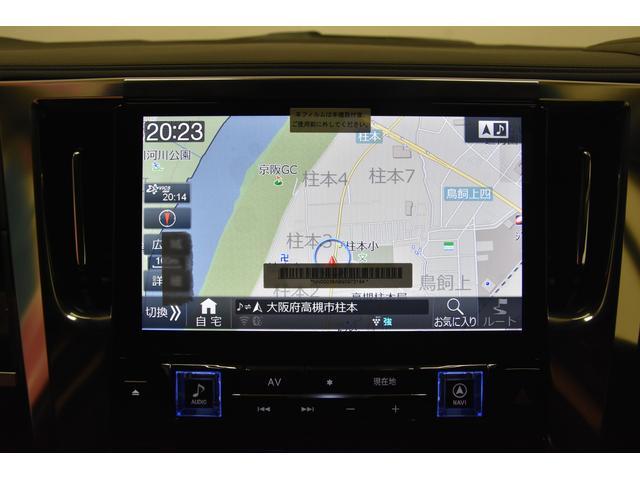 2.5フルエアロ新品21AW車高調両側電動11型ナビ リアM(7枚目)