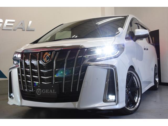 2.5フルエアロ新品21AW車高調両側電動11型ナビ リアM(9枚目)
