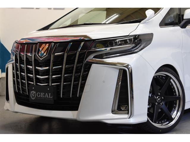2.5フルエアロ新品21AW車高調両側電動11型ナビ リアM(13枚目)