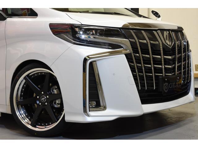 2.5フルエアロ新品21AW車高調両側電動11型ナビ リアM(14枚目)