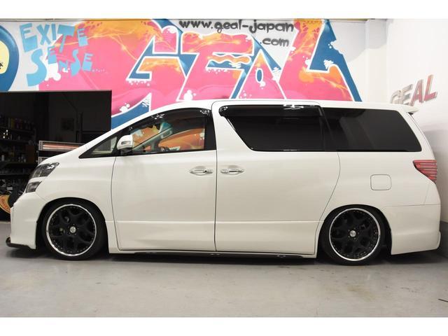 3.5Z Gエディション アドミレイションコンプリートカー BOLDWORLDエアサス 4本出しマフラー 20インチAW リヤエンターテイメントサウンド メーカーナビ 後席モニター エグゼクティブシート(20枚目)