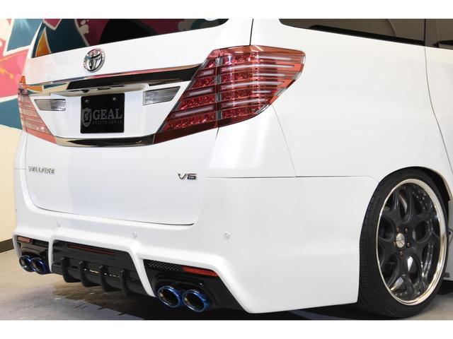 3.5Z Gエディション アドミレイションコンプリートカー BOLDWORLDエアサス 4本出しマフラー 20インチAW リヤエンターテイメントサウンド メーカーナビ 後席モニター エグゼクティブシート(28枚目)