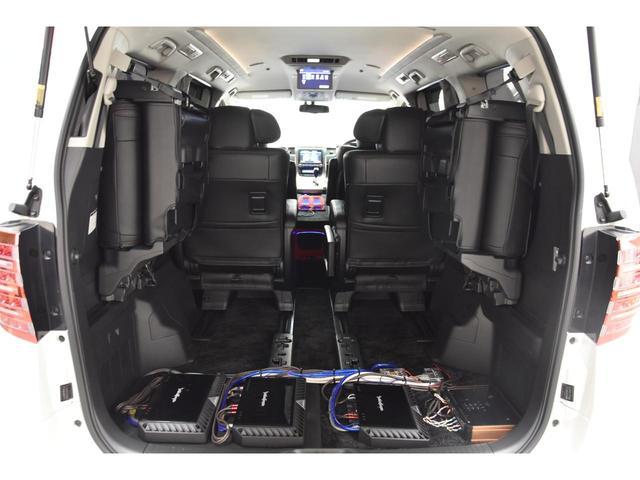 3.5Z Gエディション アドミレイションコンプリートカー BOLDWORLDエアサス 4本出しマフラー 20インチAW リヤエンターテイメントサウンド メーカーナビ 後席モニター エグゼクティブシート(60枚目)