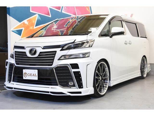 2.5Z Gエディション ZEUSコンプリートカー 22インチAW 車高調 4POTブレーキシステム 4本出しマフラー Wサンルーフ JBLオーディオ 本革シート 後席モニター(22枚目)