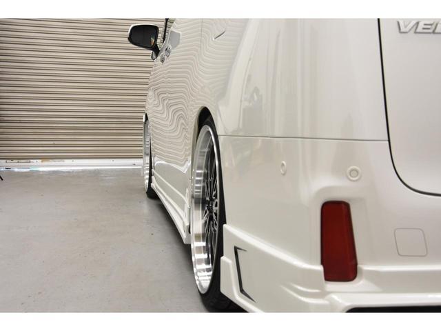 2.5Z Gエディション ZEUSコンプリートカー 22インチAW 車高調 4POTブレーキシステム 4本出しマフラー Wサンルーフ JBLオーディオ 本革シート 後席モニター(28枚目)