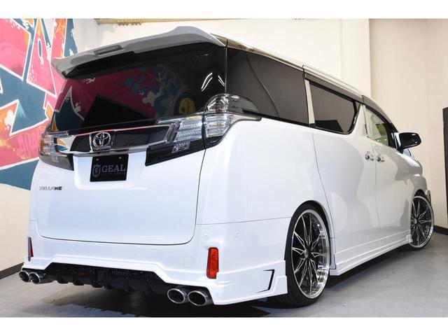 2.5Z Gエディション ZEUSコンプリートカー 22インチAW 車高調 4POTブレーキシステム 4本出しマフラー Wサンルーフ JBLオーディオ 本革シート 後席モニター(29枚目)