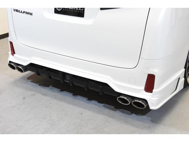 2.5Z Gエディション ZEUSコンプリートカー 22インチAW 車高調 4POTブレーキシステム 4本出しマフラー Wサンルーフ JBLオーディオ 本革シート 後席モニター(35枚目)