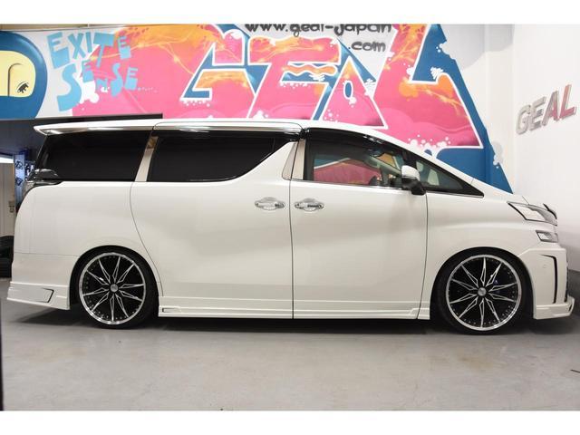 2.5Z Gエディション ZEUSコンプリートカー 22インチAW 車高調 4POTブレーキシステム 4本出しマフラー Wサンルーフ JBLオーディオ 本革シート 後席モニター(38枚目)