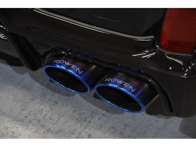2.5Z Gエディション ROWENコンプリートカー 新品BLITZ車高調 新品RAYS20インチAW キャリパーカバー JBLオーディオ リヤエンターテイメント後席モニター(33枚目)