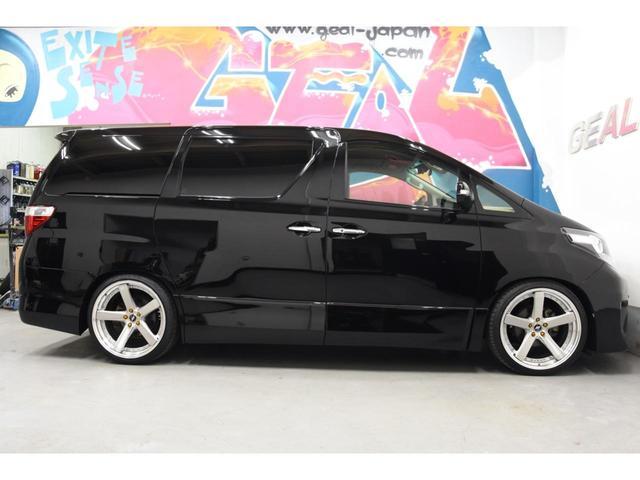 240S フルエアロ WORK21AW TEIN車高調 両側電動スライドドア 9型ナビ DOP大画面フリップダウンモニター プッシュスタート(35枚目)
