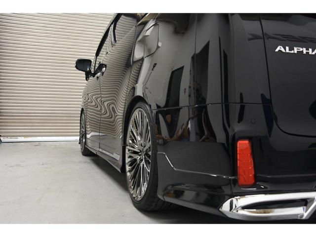 2.5S Cパッケージ WALDコンプリートカー WALD21AW RSR車高調 アルパイン11型ナビ 三眼ヘッドライトシーケンシャルウインカー エグゼクティブシート ツインムーンルーフ(26枚目)