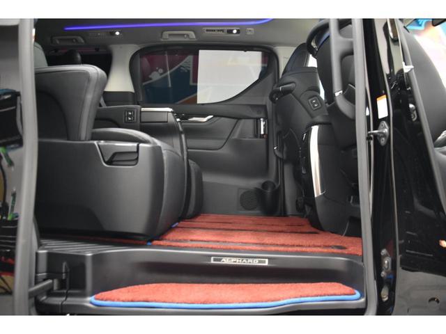 2.5S Cパッケージ WALDコンプリートカー WALD21AW RSR車高調 アルパイン11型ナビ 三眼ヘッドライトシーケンシャルウインカー エグゼクティブシート ツインムーンルーフ(48枚目)