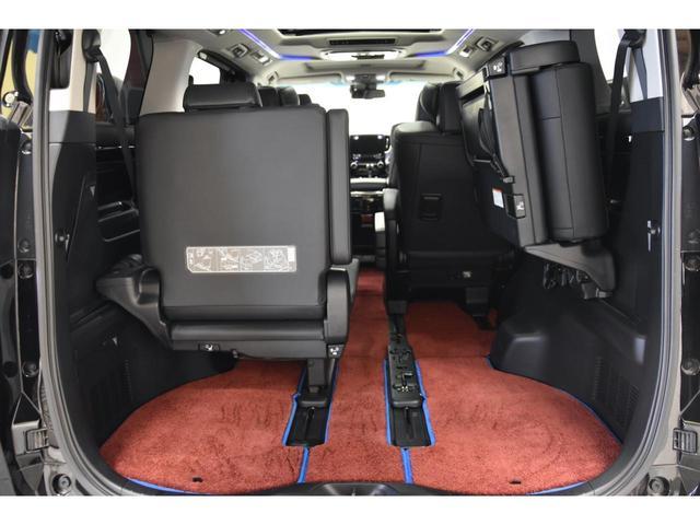 2.5S Cパッケージ WALDコンプリートカー WALD21AW RSR車高調 アルパイン11型ナビ 三眼ヘッドライトシーケンシャルウインカー エグゼクティブシート ツインムーンルーフ(58枚目)