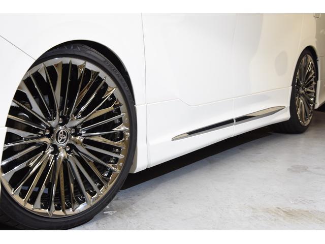 2.5Z Gエディション モデリスタコンプリートカー WORK20AW 新品BLITZ車高調 ツインムーンルーフ 両側電動スライドドア DOP10型ナビ(6枚目)