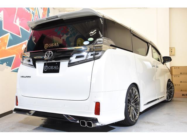 2.5Z Gエディション モデリスタコンプリートカー WORK20AW 新品BLITZ車高調 ツインムーンルーフ 両側電動スライドドア DOP10型ナビ(24枚目)