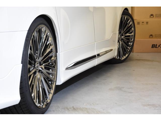 2.5Z Gエディション モデリスタコンプリートカー WORK20AW 新品BLITZ車高調 ツインムーンルーフ 両側電動スライドドア DOP10型ナビ(25枚目)