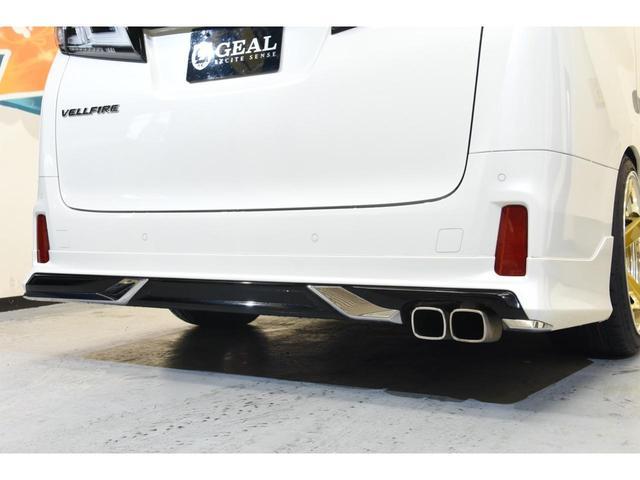 2.5Z Gエディション モデリスタコンプリートカー WORK20AW 新品BLITZ車高調 ツインムーンルーフ 両側電動スライドドア DOP10型ナビ(30枚目)