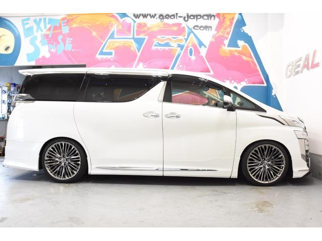 2.5Z Gエディション モデリスタコンプリートカー WORK20AW 新品BLITZ車高調 ツインムーンルーフ 両側電動スライドドア DOP10型ナビ(33枚目)