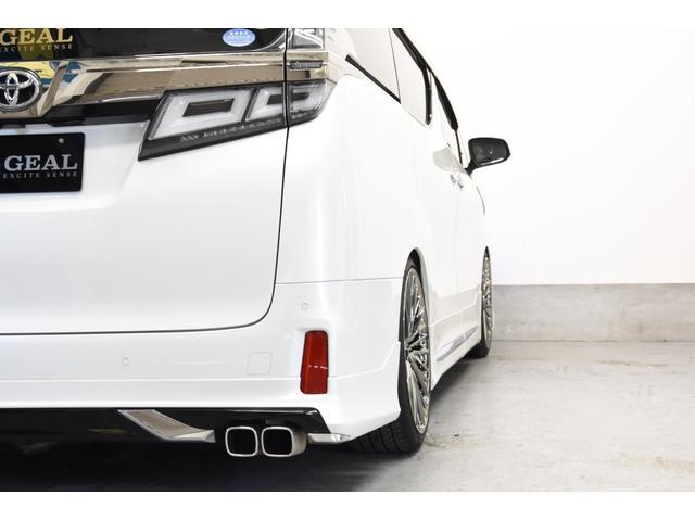 2.5Z Gエディション モデリスタコンプリートカー WORK20AW 新品BLITZ車高調 ツインムーンルーフ 両側電動スライドドア DOP10型ナビ(37枚目)