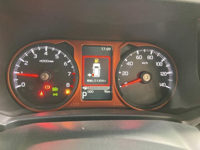 Gターボ 4WD LEDヘッドランプ オートライト オートエアコン 運転席・助手席シートヒーター アルミホイール(10枚目)