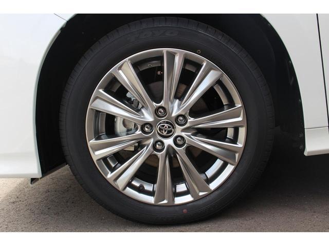 2.5S タイプゴールドII 登録済未使用車 Wサンルーフ ACコンセント パワーバックドア 三眼LEDヘッドライト ディスプレイオーディオ プリクラッシュ レーダークルーズ ハーフレザー レーントレーシング(14枚目)